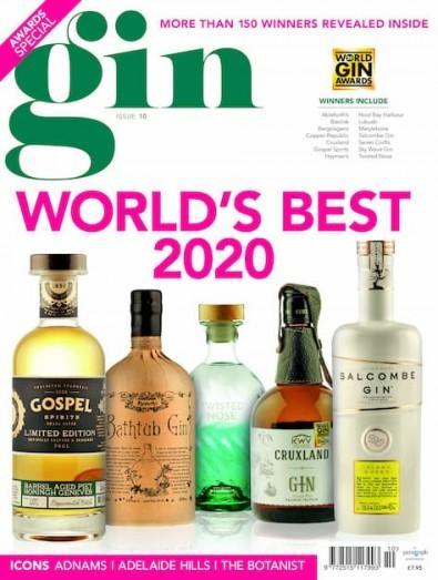 Gin magazine cover