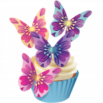 Free edible butterflies!