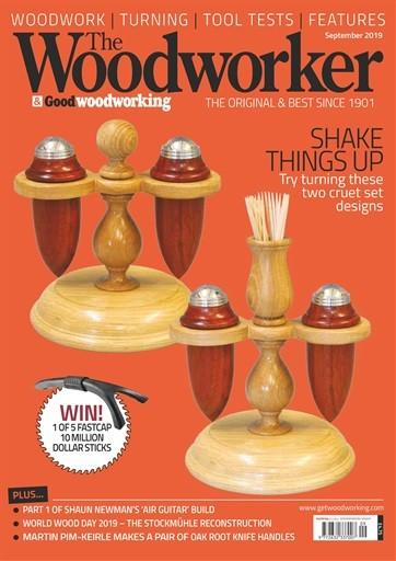The Woodworker magazine cover