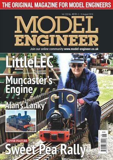 Model Engineer magazine cover