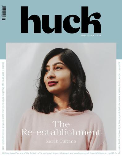 Huck magazine cover