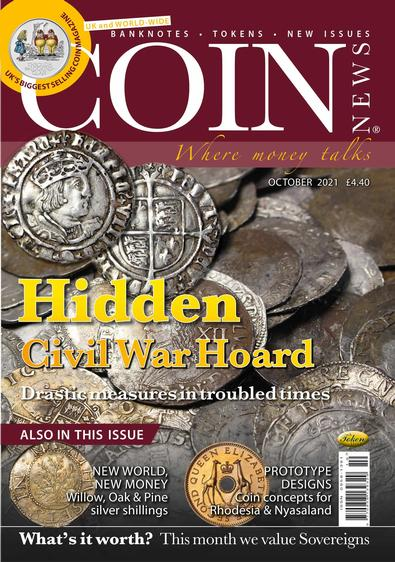 Coin News magazine cover