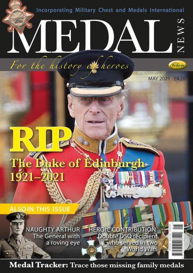 Medal News magazine cover