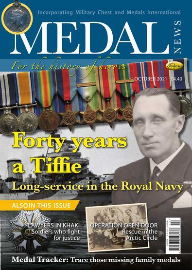 Medal News magazine cover