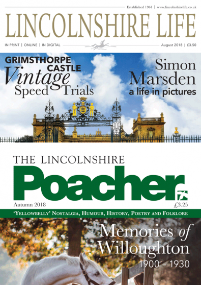 Lincolnshire Life & Poacher magazine cover