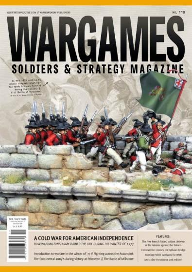 Wargames, Soldiers and Strategy magazine cover
