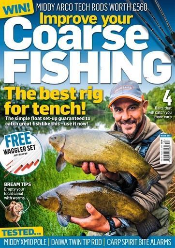Improve Your Coarse Fishing magazine cover