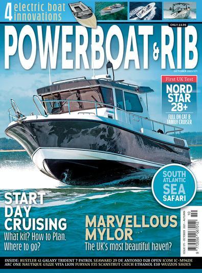 Powerboat & RIB Magazine cover