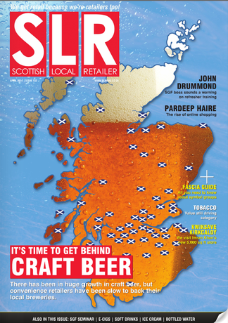 SLR (Scottish Local Retailer) magazine cover