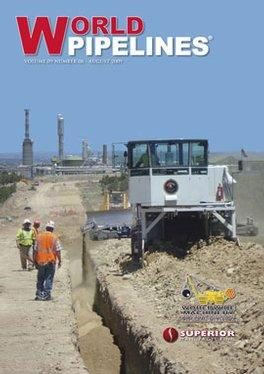 World Pipelines magazine cover