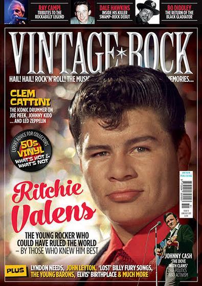 Vintage Rock magazine cover