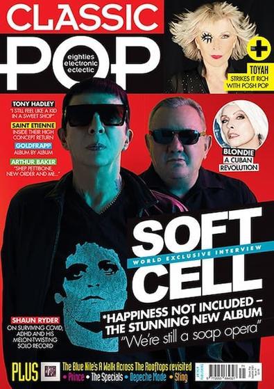 Classic Pop magazine cover