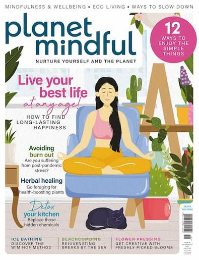 Planet Mindful magazine cover