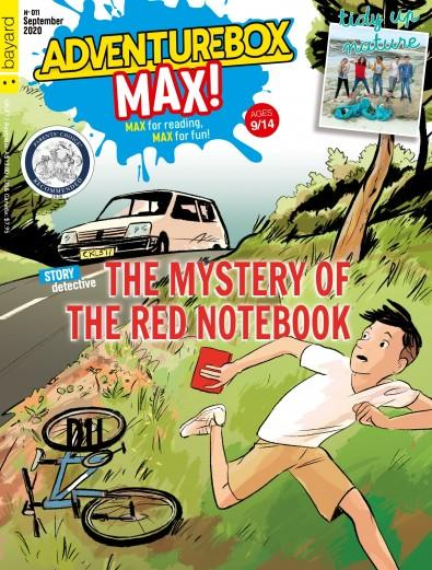 AdventureBox MAX! magazine cover