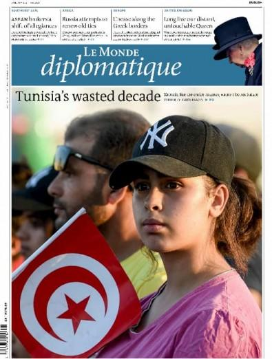 Le Monde Diplomatique newspaper cover