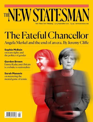 New Statesman magazine cover