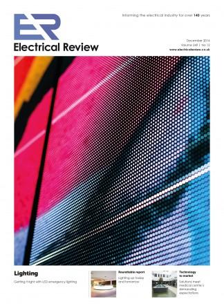 Electrical Review magazine cover