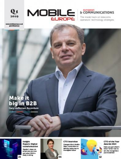 Mobile Europe and European Communications magazine cover