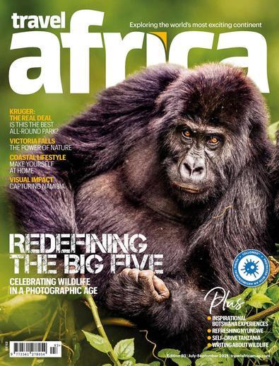Travel Africa magazine cover