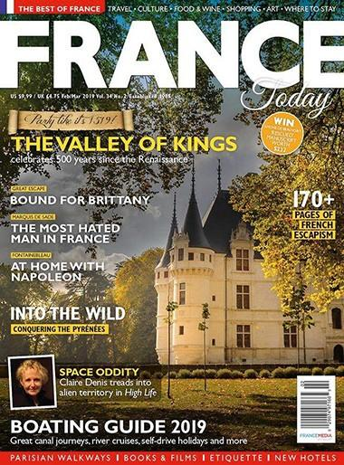 France Today magazine cover