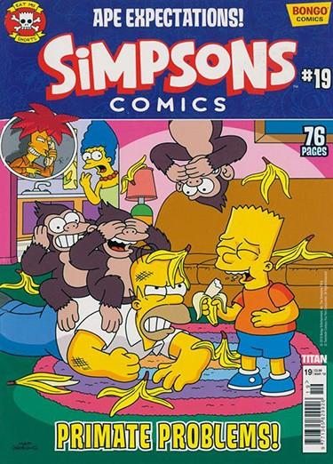 Simpsons Comics magazine cover