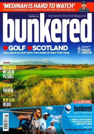 Bunkered magazine cover