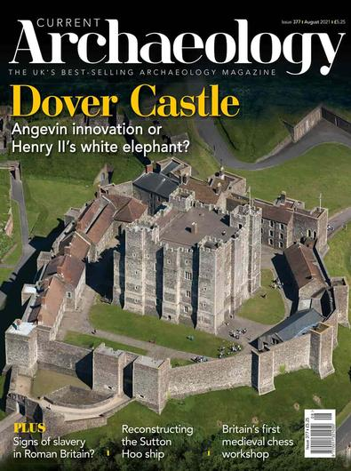 Current Archaeology magazine cover