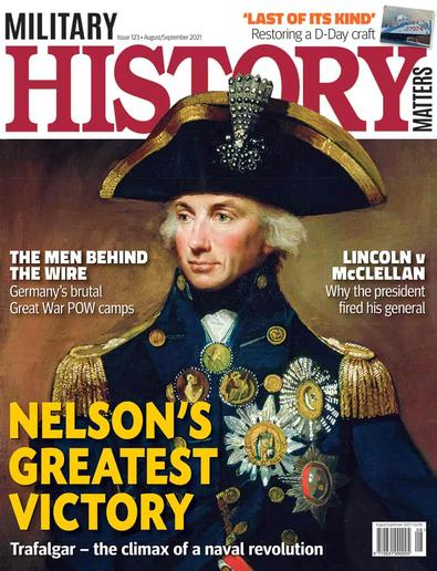 Military History Matters magazine cover