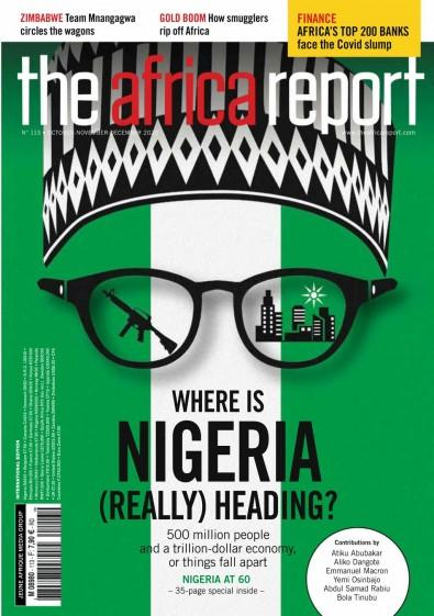 The Africa Report magazine cover