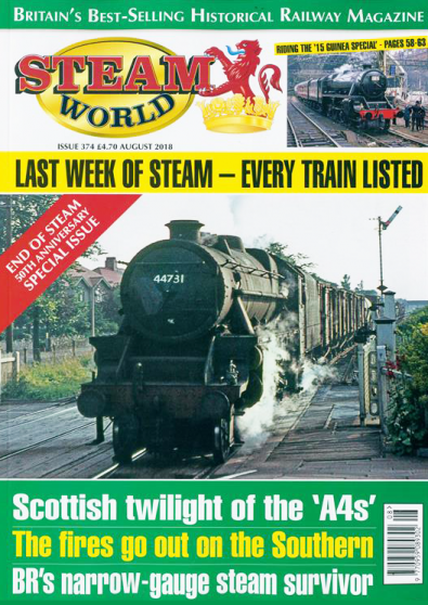 Steam World magazine cover