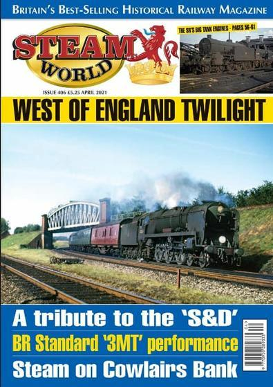 Steam World magazine cover