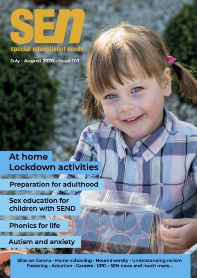 SEN magazine cover