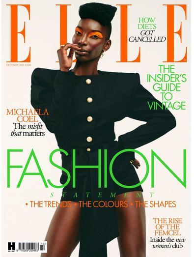 Elle magazine cover