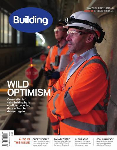 Building magazine cover