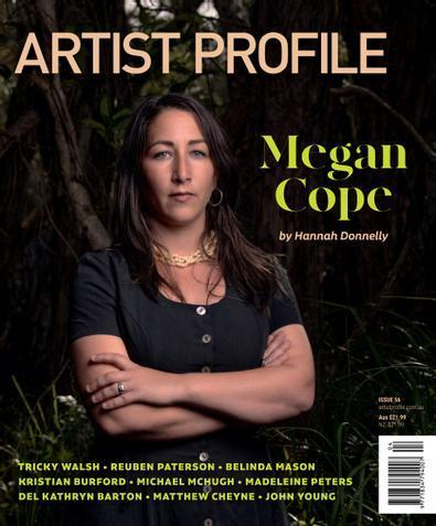 Artist Profile magazine cover