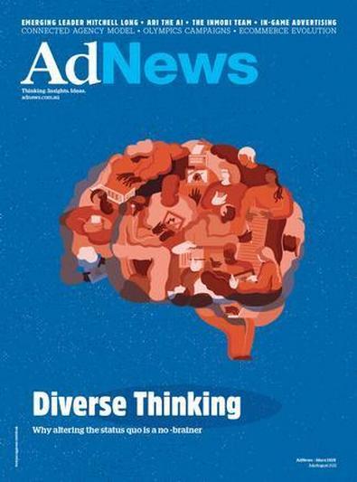 AdNews magazine cover