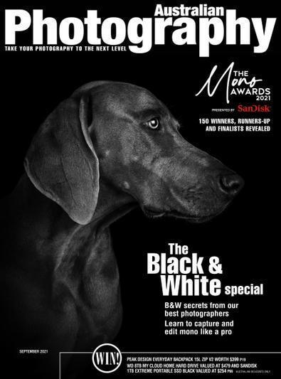 Australian Photography magazine cover