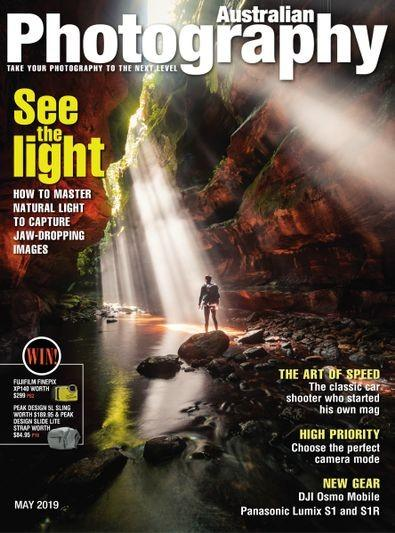 Australian Photography magazine cover