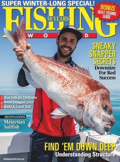 Fishing World magazine cover