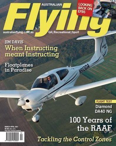 Australian Flying magazine cover
