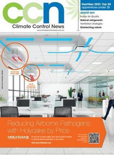 Climate Control News magazine cover