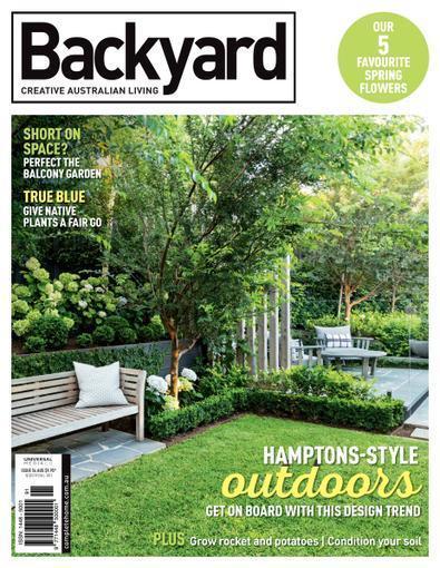 Backyard & Garden Design Ideas magazine cover