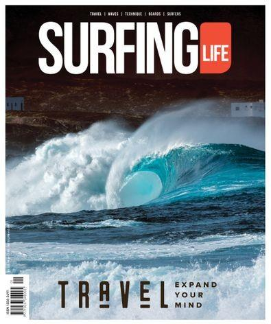 Australia's Surfing Life magazine cover
