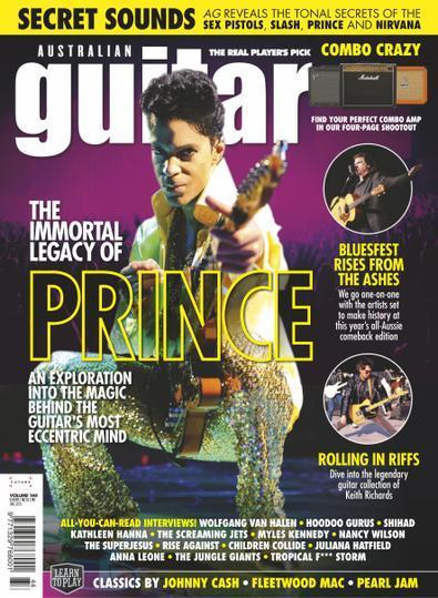Australian Guitar magazine cover