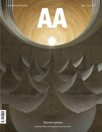 Architecture Australia magazine cover