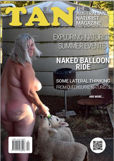 The Australian Naturist magazine cover