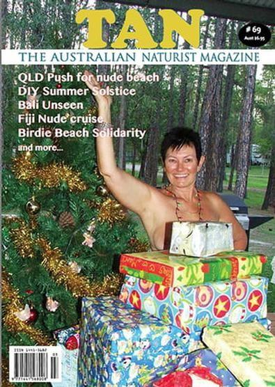 The Australian Naturist magazine cover