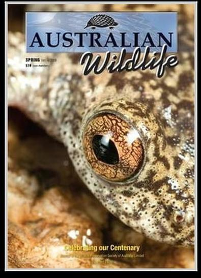 Australian Wildlife magazine cover