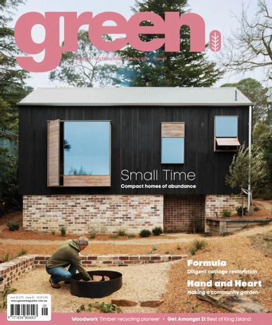 green (AU) magazine cover