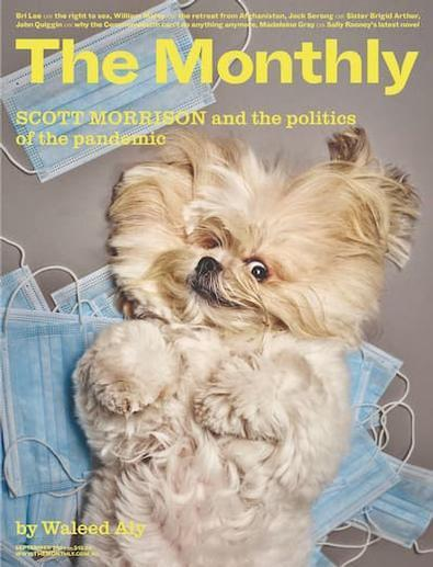 The Monthly magazine cover